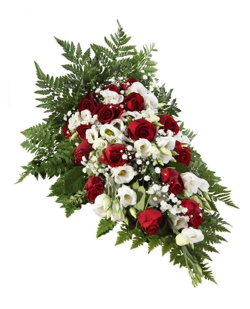 Flores para funeral en tanatorio San Isidro.