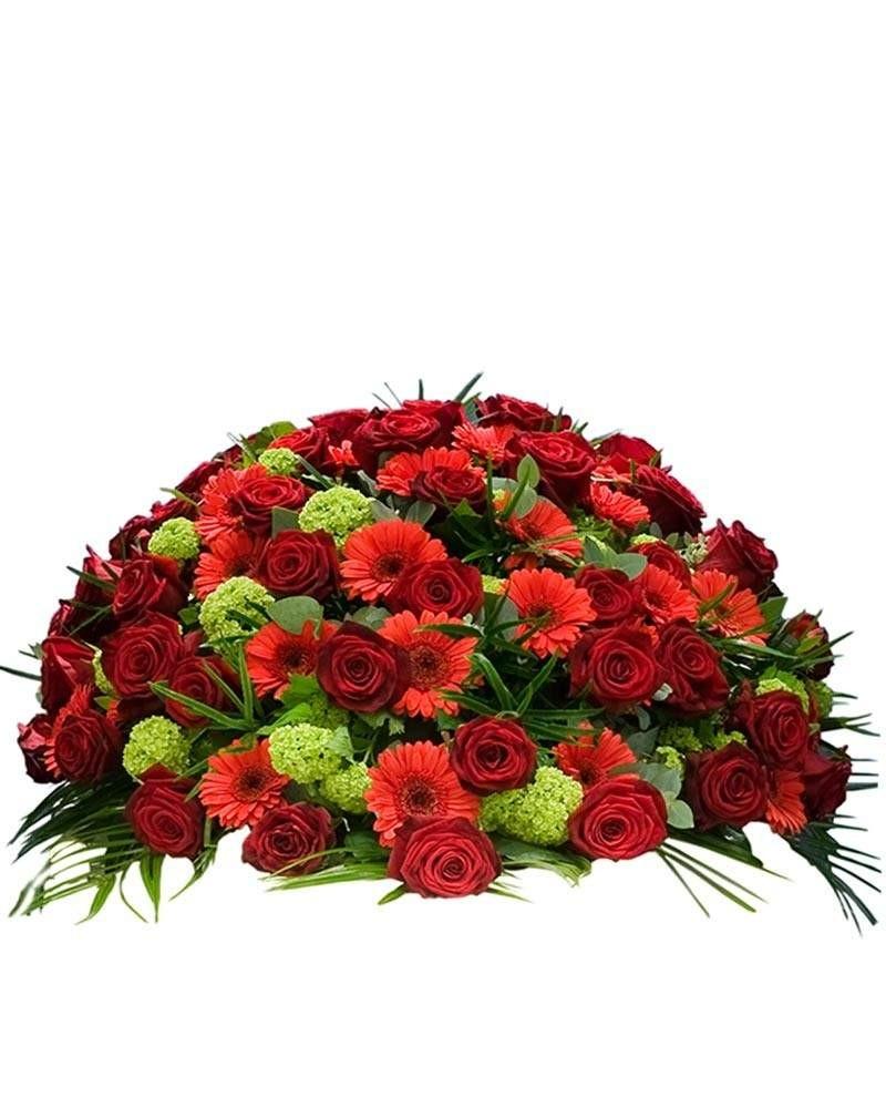 Flores para tanatorio San Isidro.