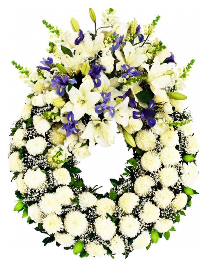 Coronas de flores para funeral