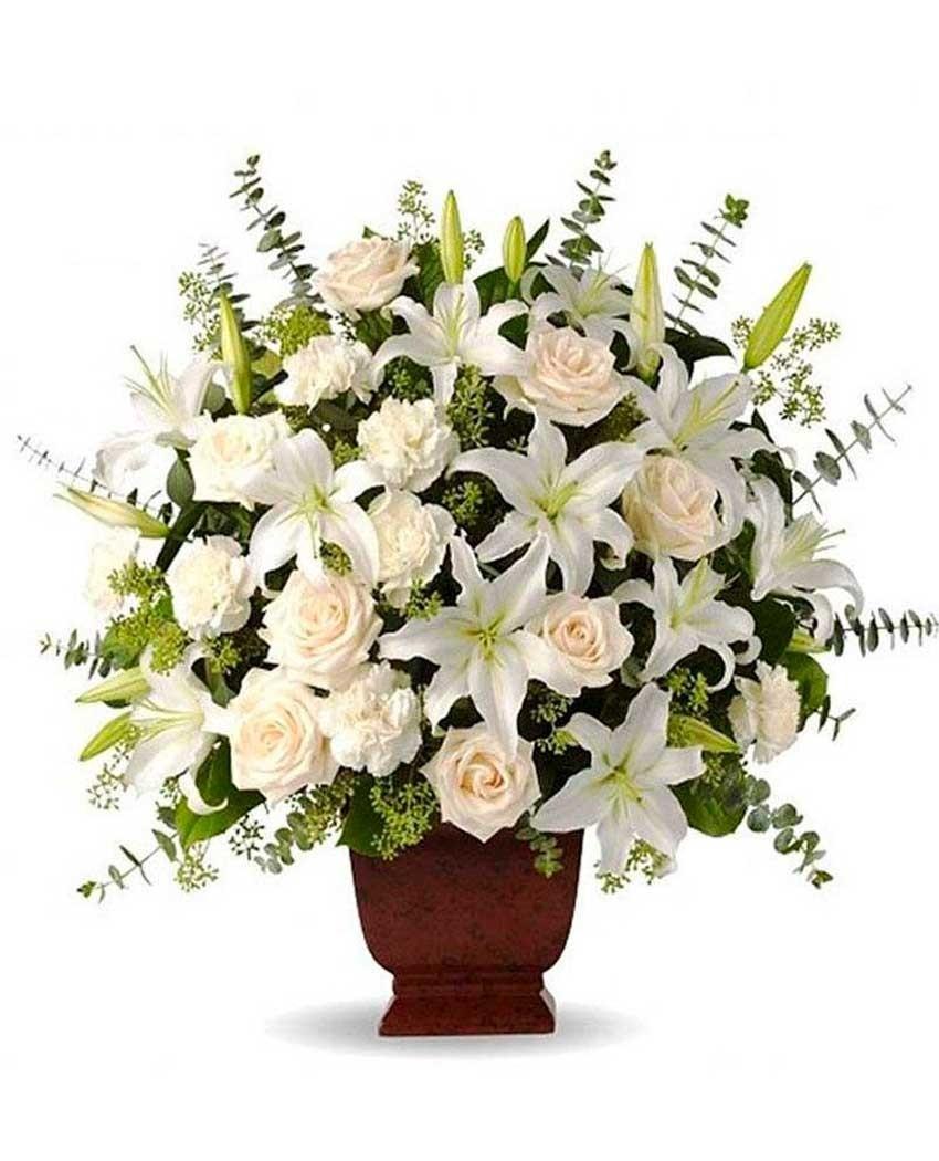 Enviar flores a tanatorios Madrid