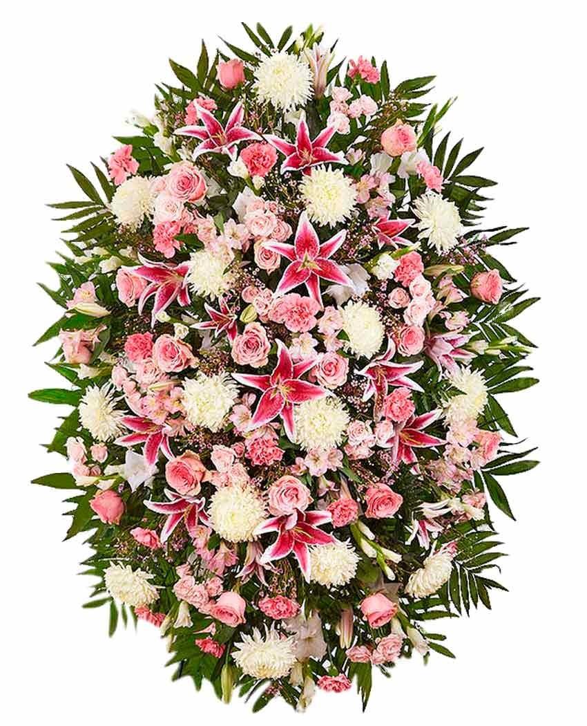 palma de flores fúnebre tanatorios de madrid