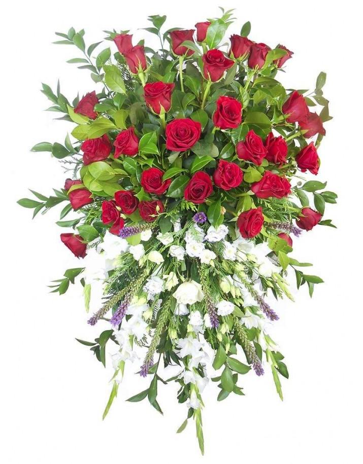 Corona de flores funeral