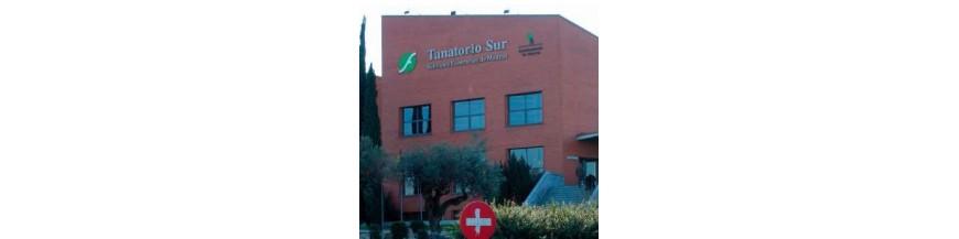 Tanatorio Sur de Madrid. Información General. Dirección, teléfonos.