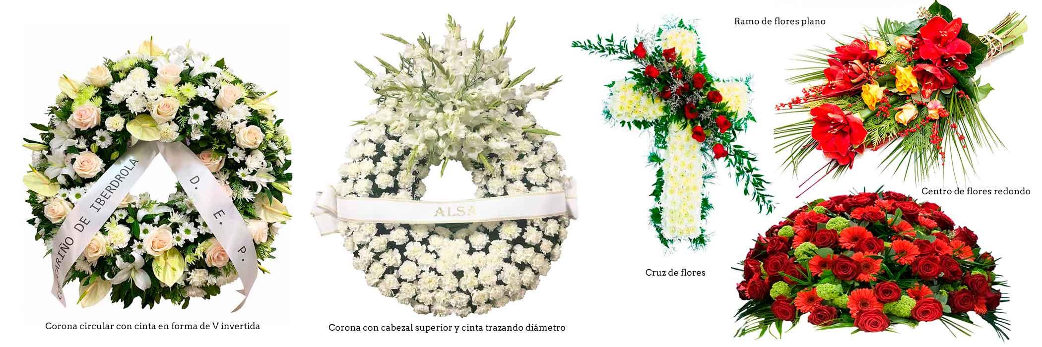 Coronas Y Flores Para Tanatorios De Madrid Las Flores El